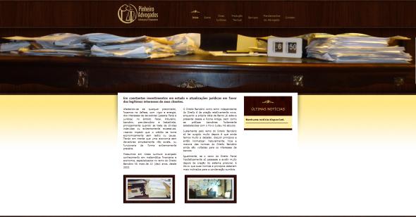 novo site pinheiro advogados